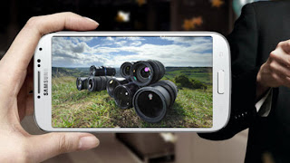 Samsung Galaxy S4 Zoom, Ponsel Kamera Beresolusi 16MP