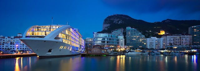 Where to Stay in Gibraltar? The World's First Floating Hotel!