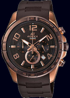 Casio Edifice Rose Gold  Resin Band EFR516PG-5AV