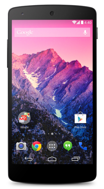 Google Nexus 5 on Ting