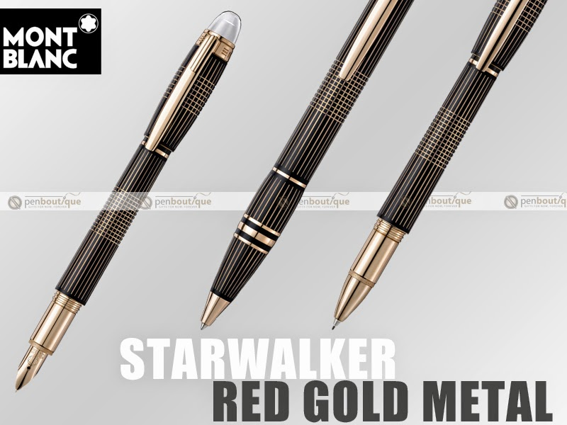 Montblanc Starwalker Red Gold Plated Metal