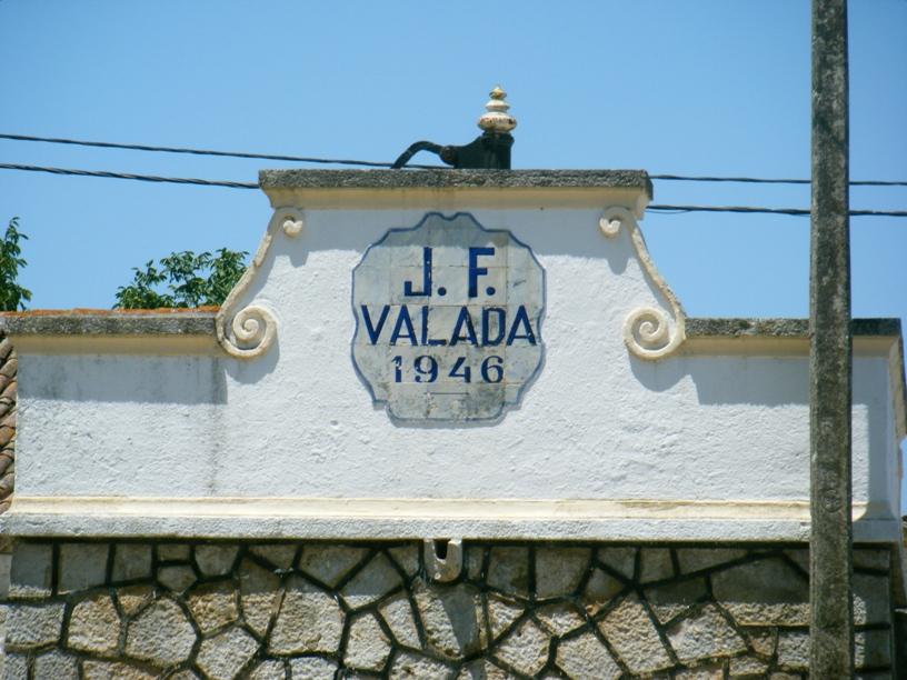 Placa J.F. Valada 1946