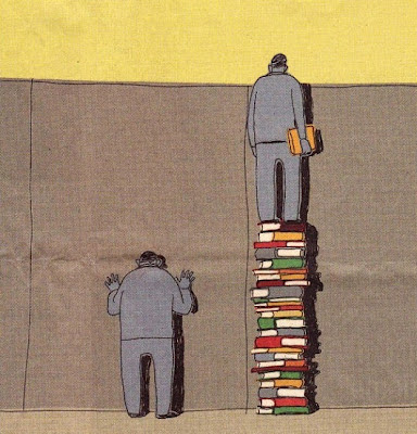 Viñeta: los libros abren nuevos horizontes