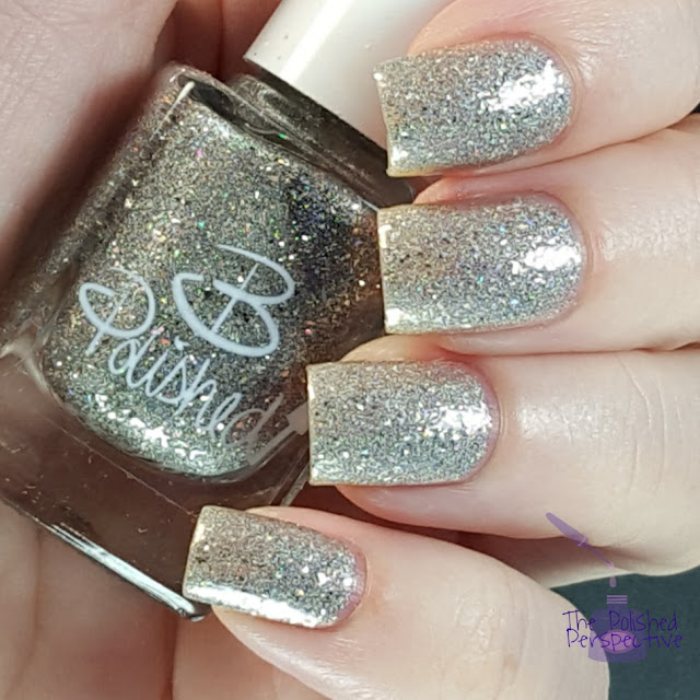 B Polished Silver Bells a Blinging swatch
