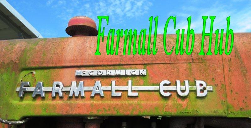Farmall Cub Hub