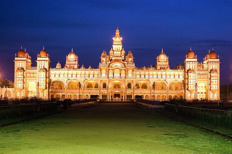 Incredible India Mysore Palace In Karnataka