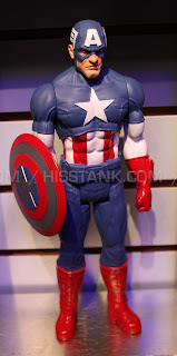 Hasbro 2013 Toy Fair Display Pictures - Titan Heroes - Captain America