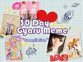 30 Days Gyaru Meme