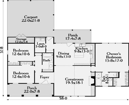 Planos casas modernas planos de casas modernas de 1 piso for Planos casas modernas 1 planta