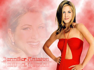Jennifer Aniston in red dress images