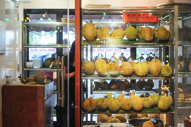 Agrobazaar malaysia durian buffet