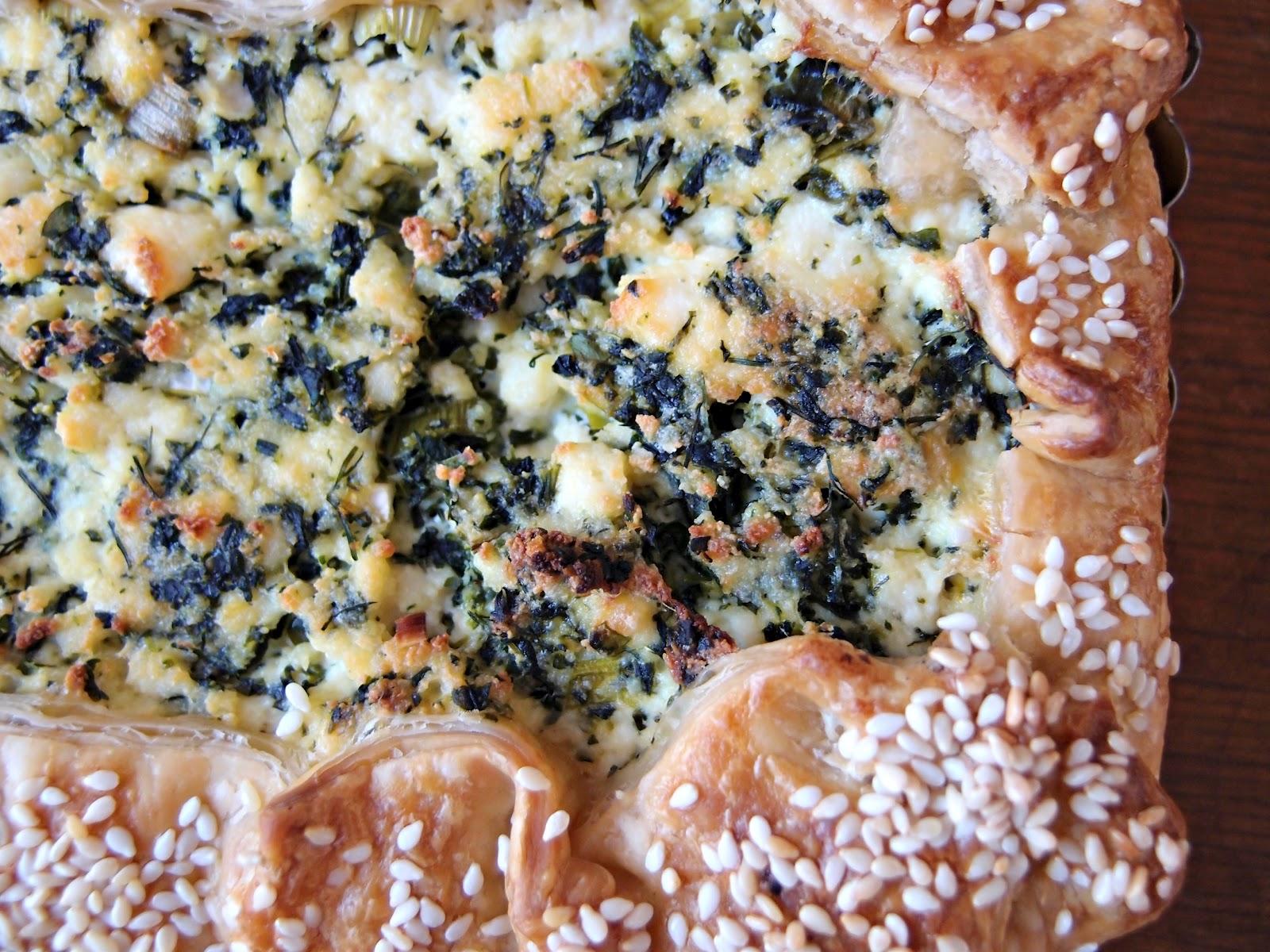 Milk and Honey: Ricotta and Dill Tart