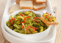 Relish de Pepino (vegana)