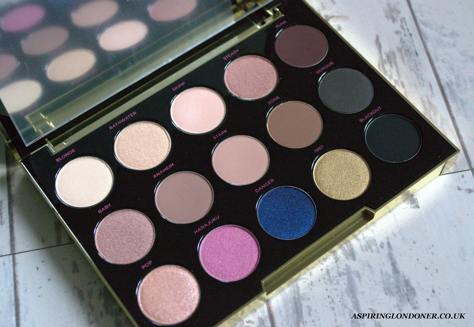Urban Decay Gwen Stefani Eyeshadow Palette Review+Swatches - Aspiring Londoner