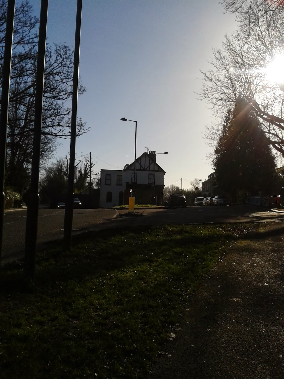 Mill Hill Village on a Sunny February Morning