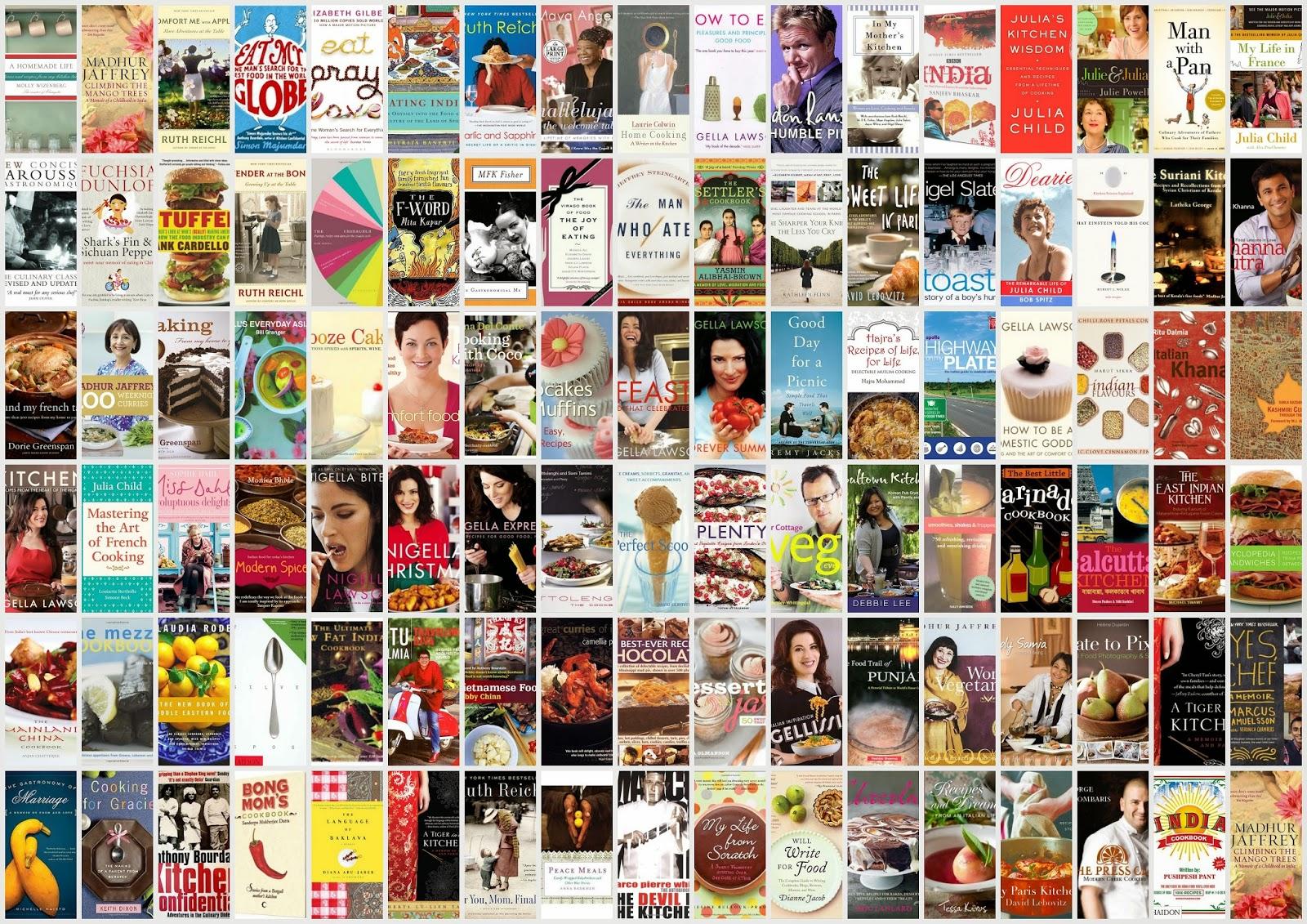 Books on Food - Orange Kitchens