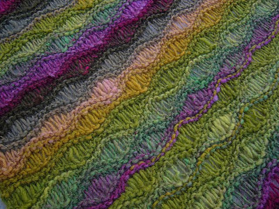 Knitting Patterns Wave Scarf : Serenity Knits: Scarf Workshops