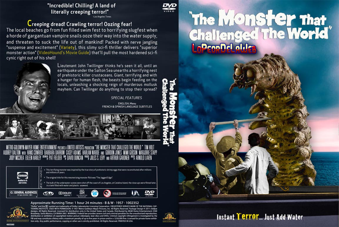 El Monstruo Que Desafió Al Mundo (1957 - C. Ficción - 720p)