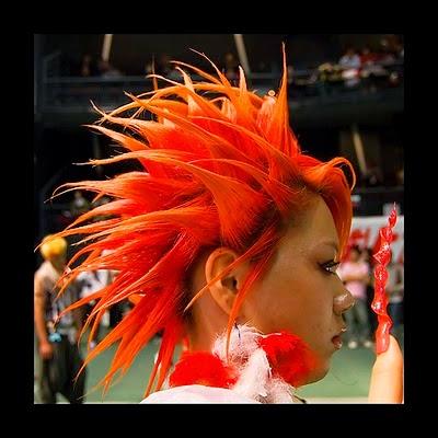 Foto Model  Rambut Gaul