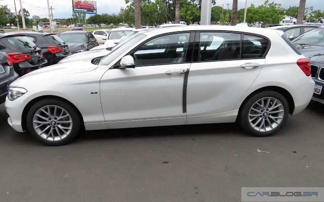 Novo BMW Série 1 2016 - Brasil - branco