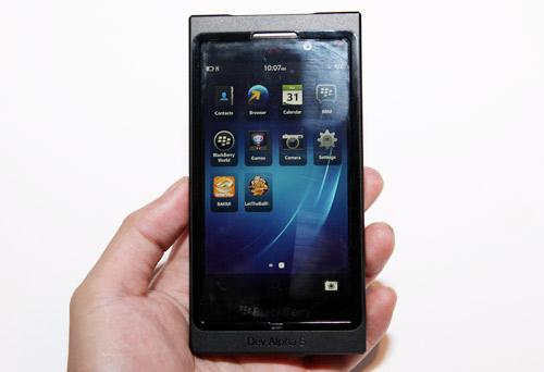 Blackberry Dev Alpha B