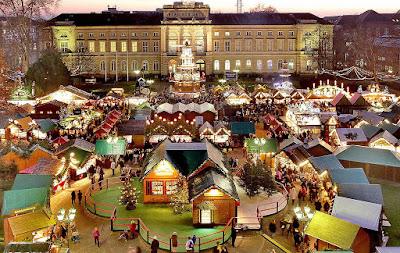 Karlsruhe: Le marché de l'enfant Jésus
