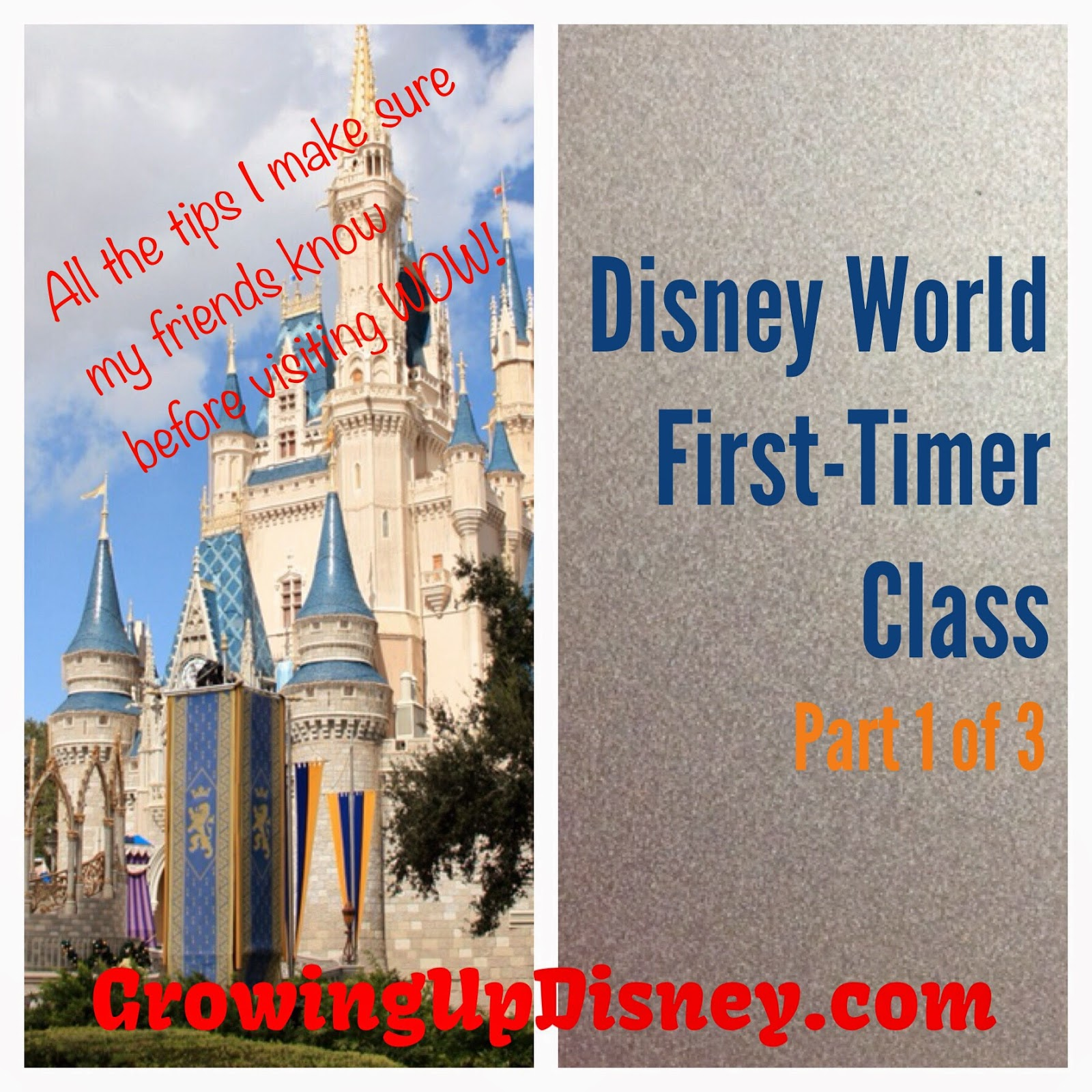 Cinderella Castle, first Disney vacation, Growing Up Disney