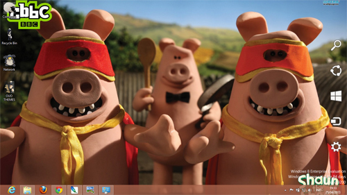 Shaun The Sheep Theme For Windows 7 And 8