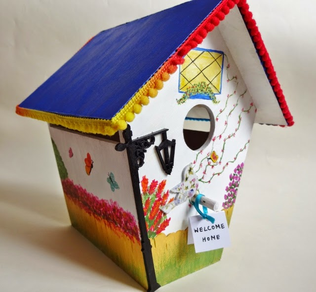 Painted Bird House Online