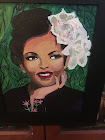 My painting of Billy Holiday