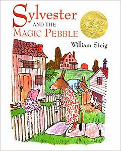 http://www.amazon.com/Sylvester-Magic-Pebble-William-Steig/dp/1442435607/ref=sr_1_1?ie=UTF8&qid=1393823281&sr=8-1&keywords=sylvester+and+the+magic+pebble