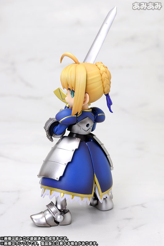 Fatestay night Saber-san Plastic Kit