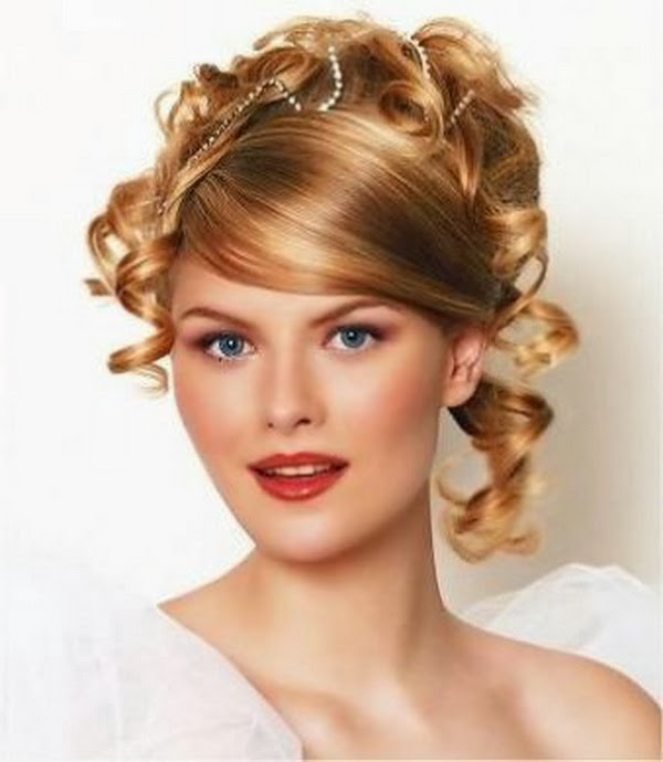 wedding hairstyles for curly hair -7 lots of great hairstyles advice  more