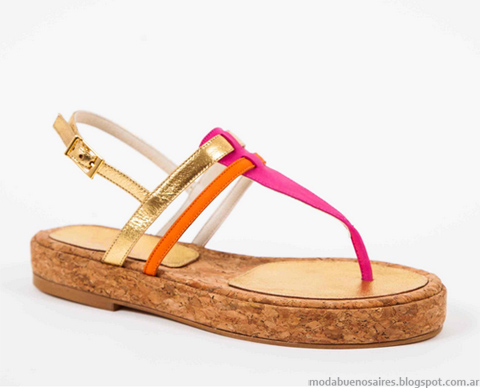 Moda zapatos, sandalias 2013. Jow primavera verano 2013.