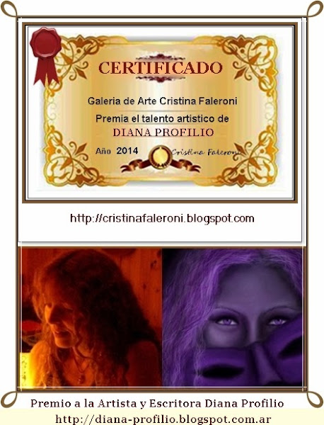 Diana Profilio - Premio