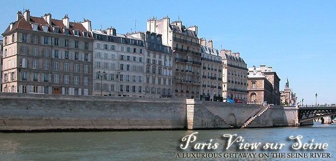 Paris Ile de la Cité Apartment with AMAZING View on the Seine river