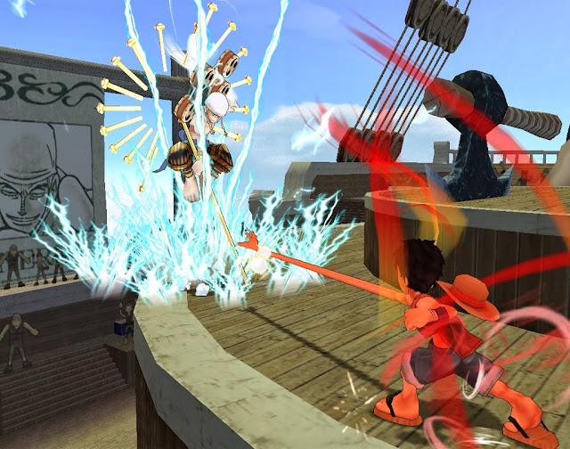 One Piece Grand Adventure Enel vs Luffy