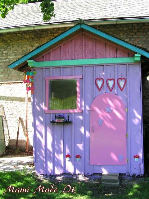 From Hen Coop to Playhouse - Vom Hühnerstall zum Spielhaus