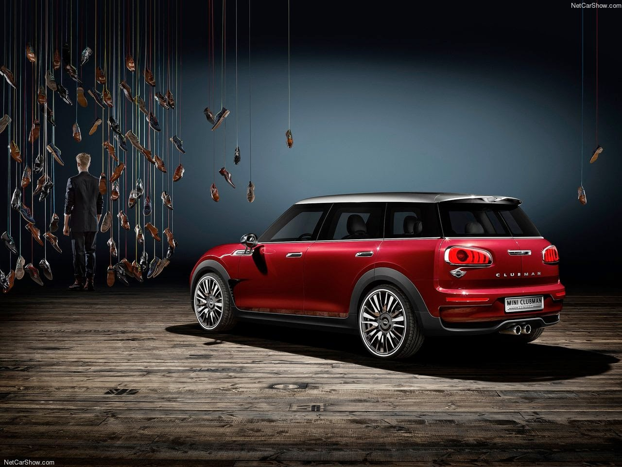 komisch 2015 mini clubman concept wallpapers. Black Bedroom Furniture Sets. Home Design Ideas