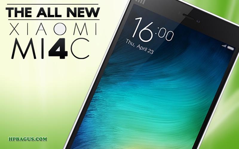 Spesifikasi dan Harga Xiaomi Mi 4c Android Smartphone