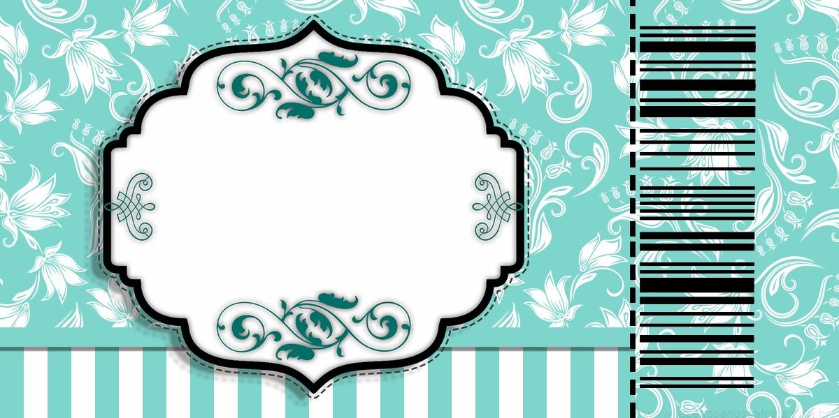 Invitación tipo Ticket Master Gratis para Fiesta Tiffany.