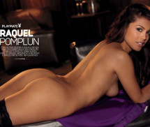 Raquel Pomplun e Tiffany Toth Playmates Playboy Novembro 2012