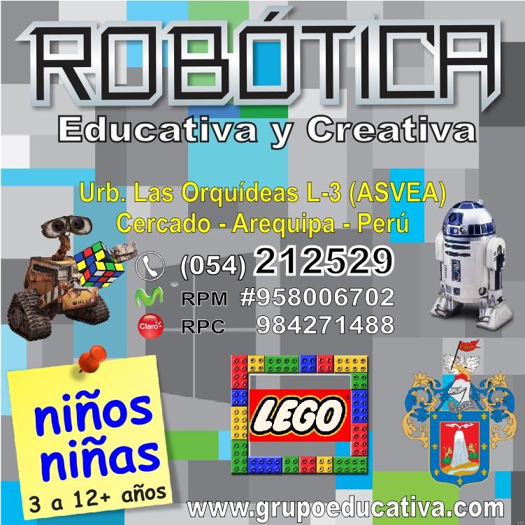 Robótica Educativa y Creativa para Niños y Niñas en Arequipa Perú