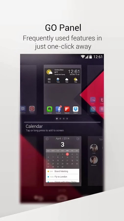 GO Launcher -Theme & Wallpaper Prime VIP v1.111