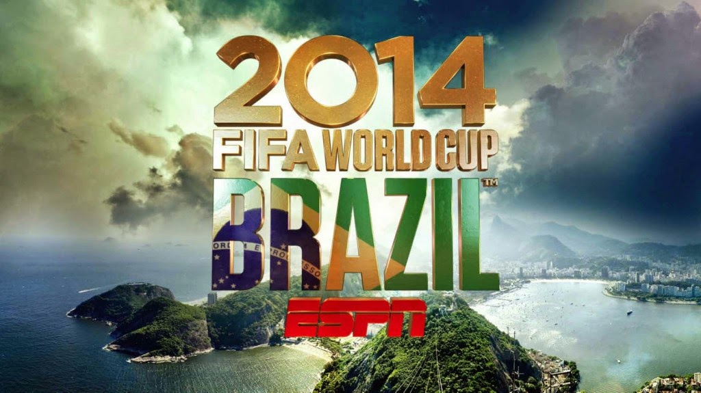 ESPN's 2014 FIFA World Cup television schedule revealed
