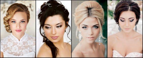 Свадебный макияж для блондинки пошагово
