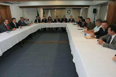 Reunião da Diretoria Executiva da UNLAE com a FEPAL