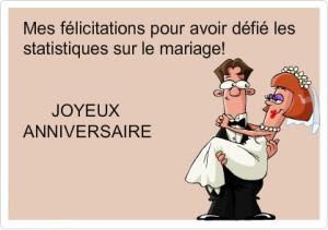 Message anniversaire de mariage humour anniversaire de - Texte felicitation mariage humour ...