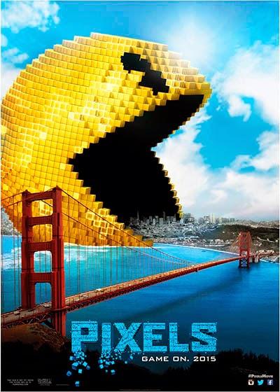 Pacman poster Pixels