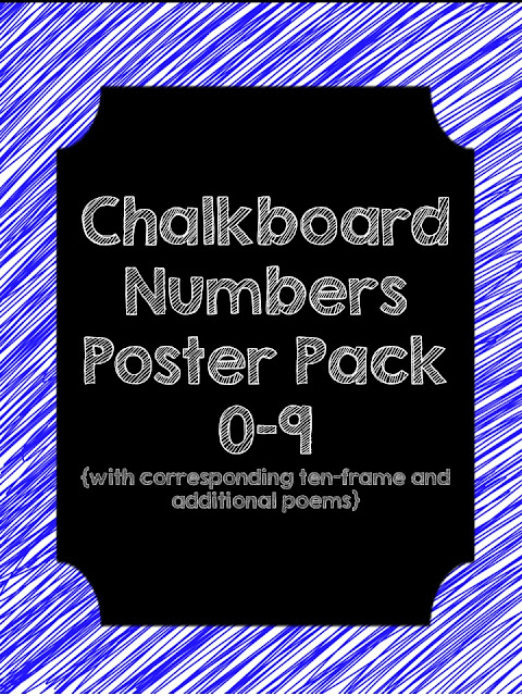 https://www.teacherspayteachers.com/Product/Chalkboard-Numbers-and-Poems-Poster-Pack-1449953